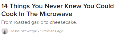 How to Write Headlines - Buzzfeed