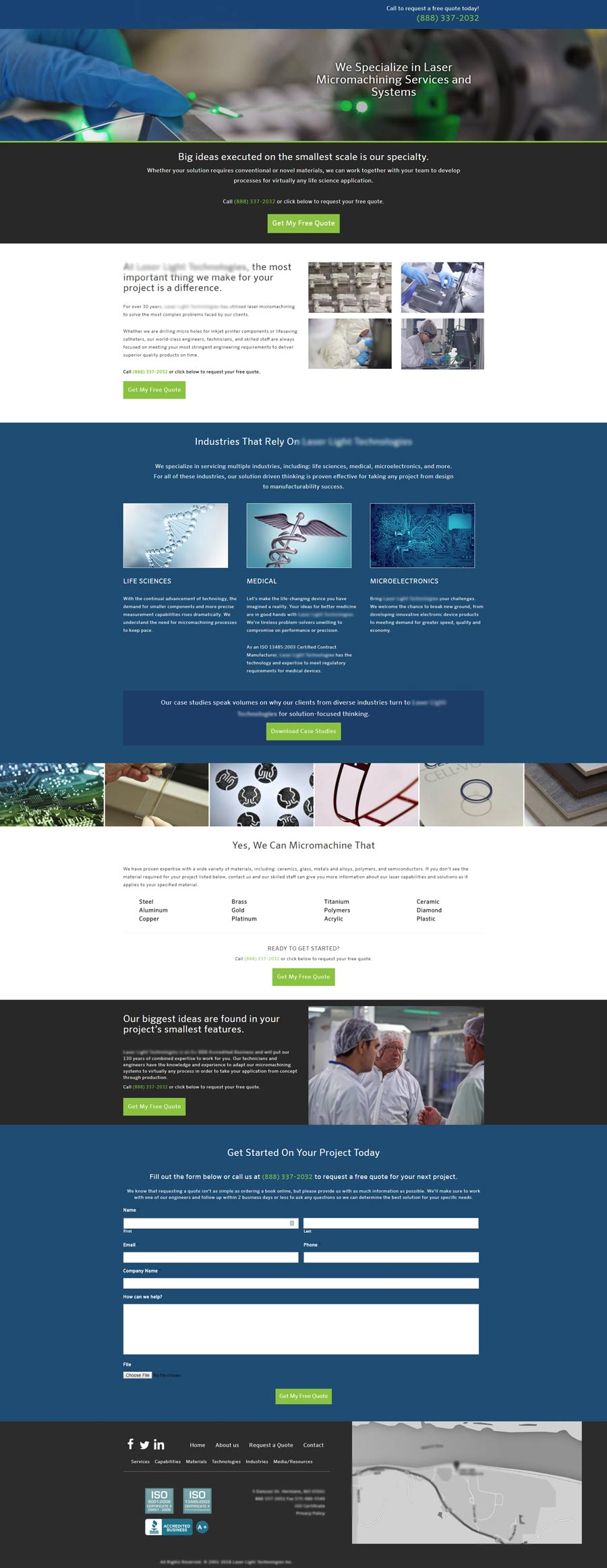 Landing Page Example #2